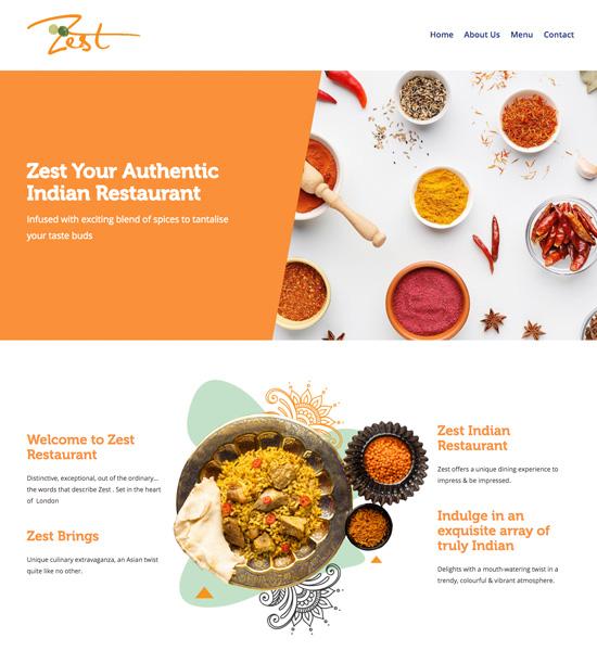 zest_indian_restaurant_website